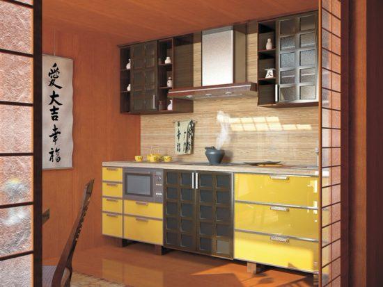 Amenajare bucatarie in stil japonez