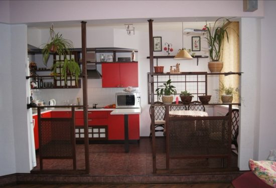 Bucatarie cu design minimalist japonez