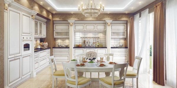 Design de lux bucatarie