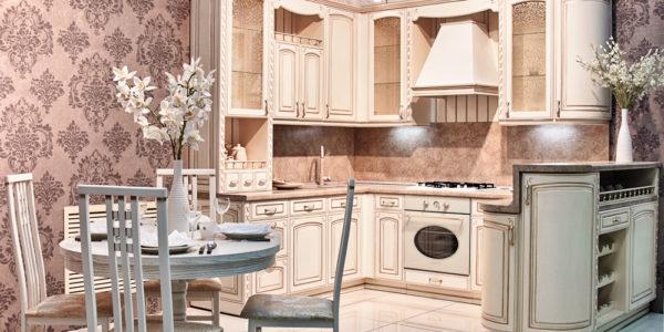 Design elegant bucatarie alba