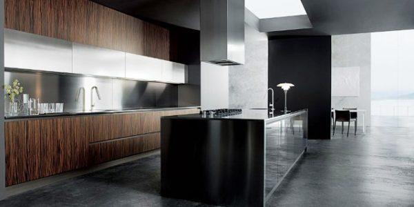Decor minimalist bucatarie moderna