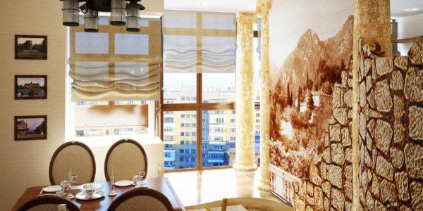 Design mediteranean bucatarie