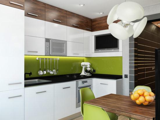 Design minimalist bucatarie