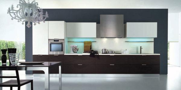 Mobilier minimalist pentru bucatarie