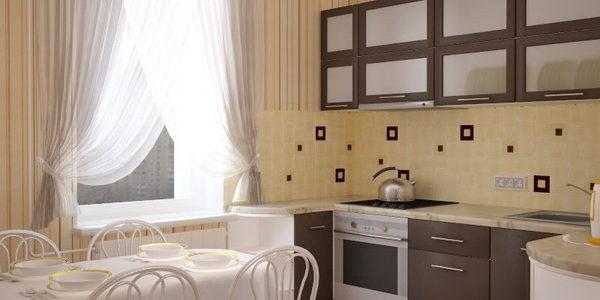 Decor bucatarie in culoarea vaniliei