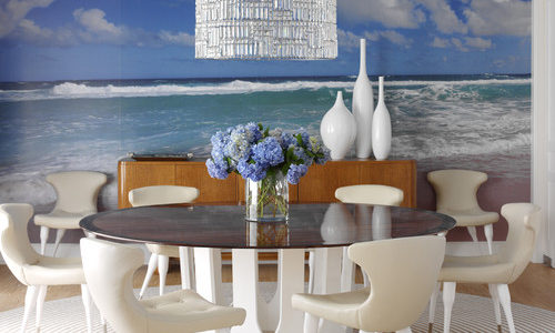Decor marin perete dining