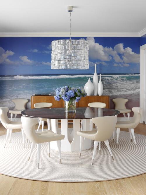 Decor marin perete dining