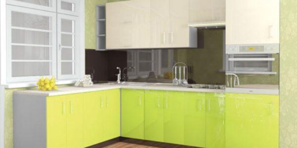 Decor verde-vanilla bucatarie