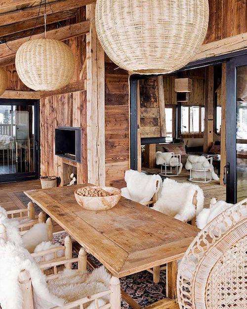 Decor sala de mese rustica